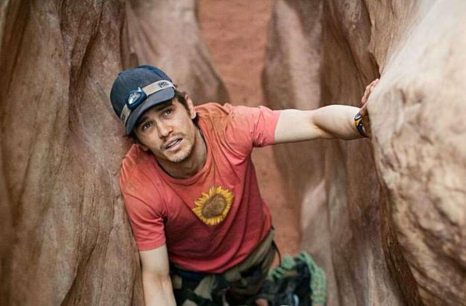 "James Franco in ""127 Hours."" Photo: Chuck Zlotnick, Fox Searchlight"