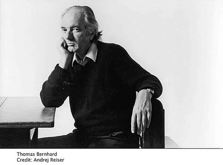 Author Thomas Bernhard Photo: Andrej Reiser