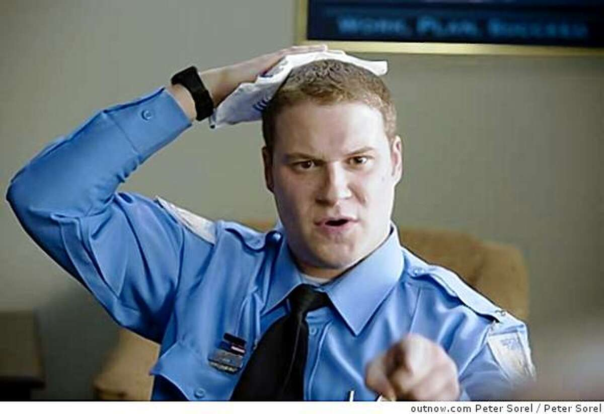Seth Rogan in OBSERVE AND REPORTOR-02694 SETH ROGEN stars as Ronnie in Warner Bros. Pictures� and Legendary Pictures� dark comedy �Observe and Report,� a Warner Bros. Pictures release.PHOTOGRAPHS TO BE USED SOLELY FOR ADVERTISING, PROMOTION, PUBLICITY OR REVIEWS OF THIS SPECIFIC MOTION PICTURE AND TO REMAIN THE PROPERTY OF THE STUDIO. NOT FOR SALE OR REDISTRIBUTION.