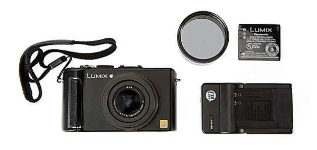 The Panasonic Lumix LX-3 offers many advanced features and settings, including a 24mm equivalent wide-angle lens and 720 HD video in wide-screen mode, but at 9.3 ounces is just a fraction of most DSLR rigs. Photo: Russell Yip, The Chronicle