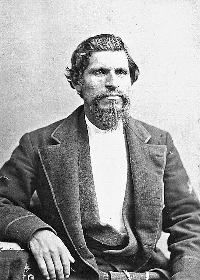 Tiburcio Vasquez, the famous California bandito, pictured in 1874. Photo: Collection Of John Boessenecker