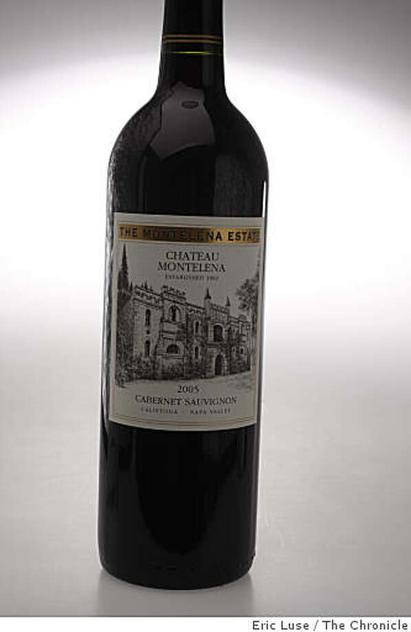 Chateau Montelena Napa Cabernet photographed  in San Francisco on Thursday, April 2, 2009. Photo: Eric Luse, The Chronicle