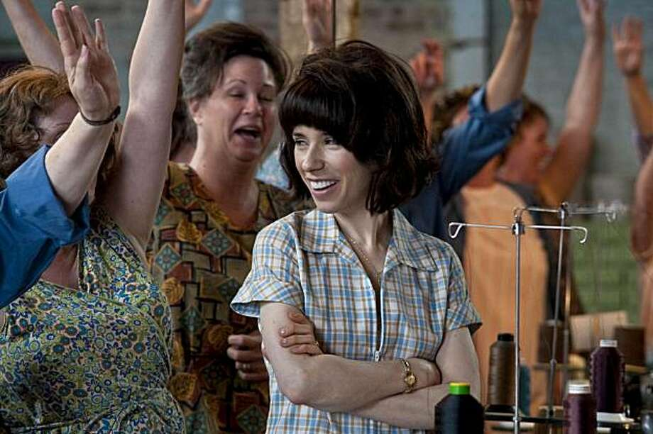 "In this undated publicity image released by Sony Pictures Classics, Sally Hawkins is shown in a scene from, ""Made in Dagenham."" Photo: Susie Allnutt, AP"