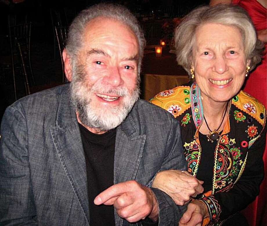 Artist Pedro Cervantes and Ann Rockefeller Roberts at the Mexican Museum Gala. November 2010. Photo: Catherine Bigelow, Special To The Chronicle