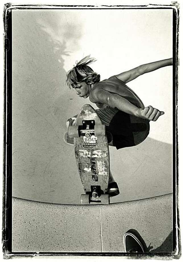 Glen Friedman's photo of Jay Adams is among those on display at 941 Geary Gallery. Photo: Glen Friedman