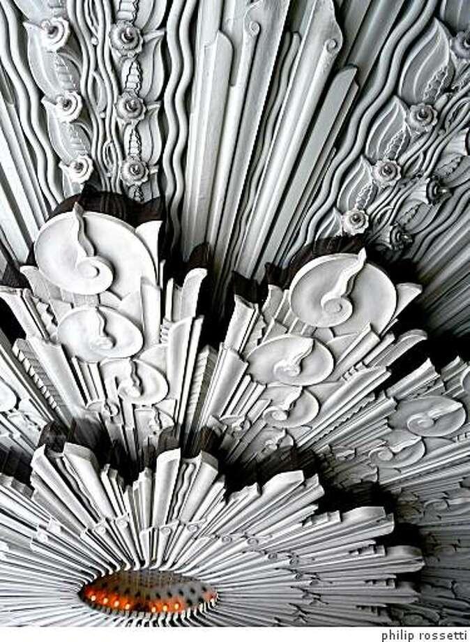 """Wiltern Lobby"" (2008-09) laser print by Philip Rossetti Photo: Philip Rossetti"