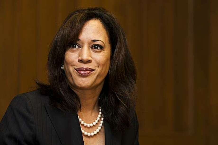 Kamala Harris, Democratic nominee for state attorney general, met with the San Francisco Chronicle Editorial Board on Tuesday, Sept. 21, 2010. Photo: Ali Thanawalla, SFGate