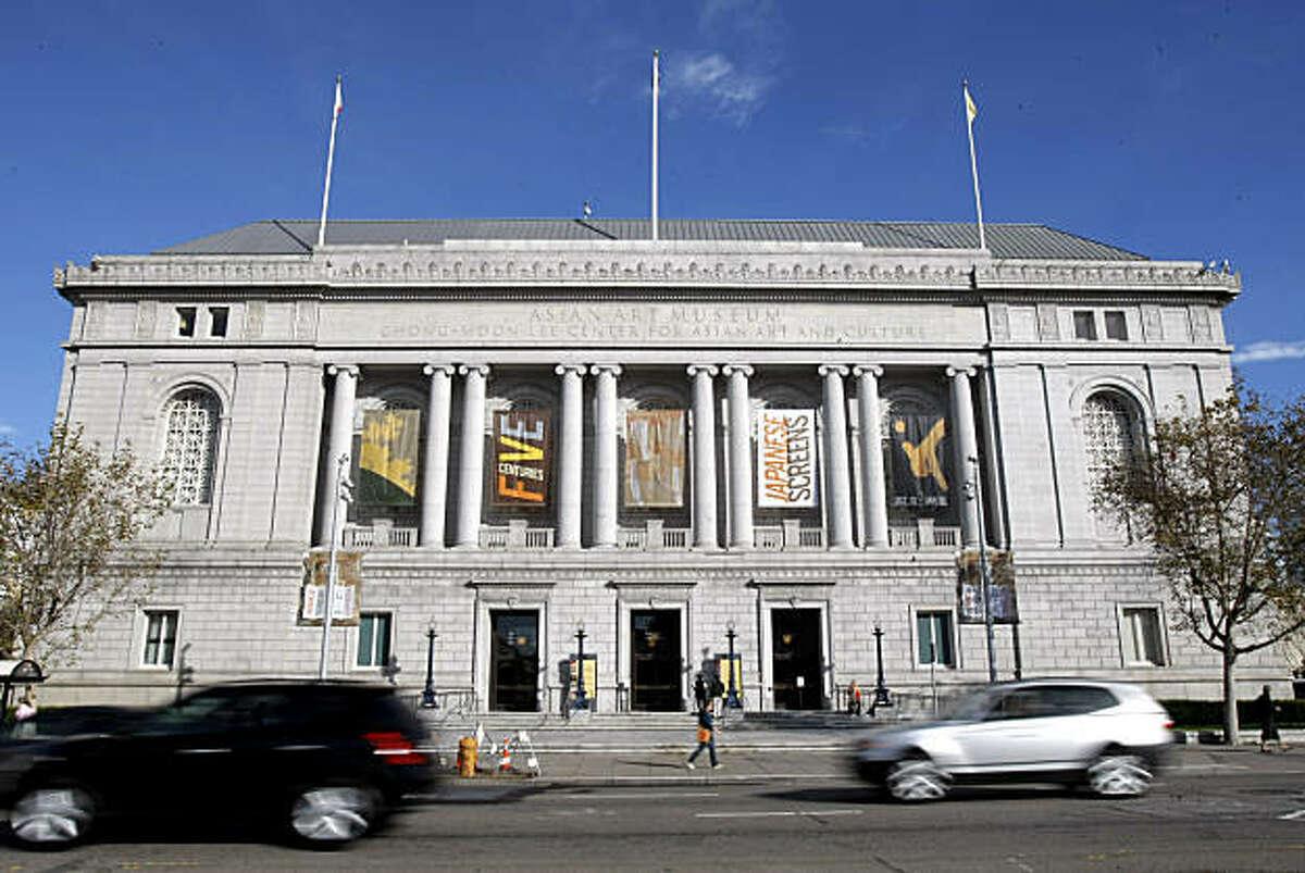The Asian Art Museum in San Francisco, Calif., on Nov. 13, 2010.