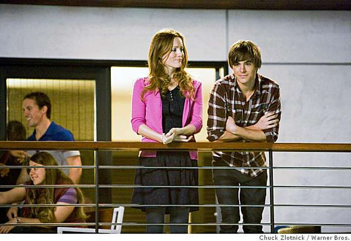 """Leslie Mann and Zac Efron in """"17 Again."""" (2009)"""