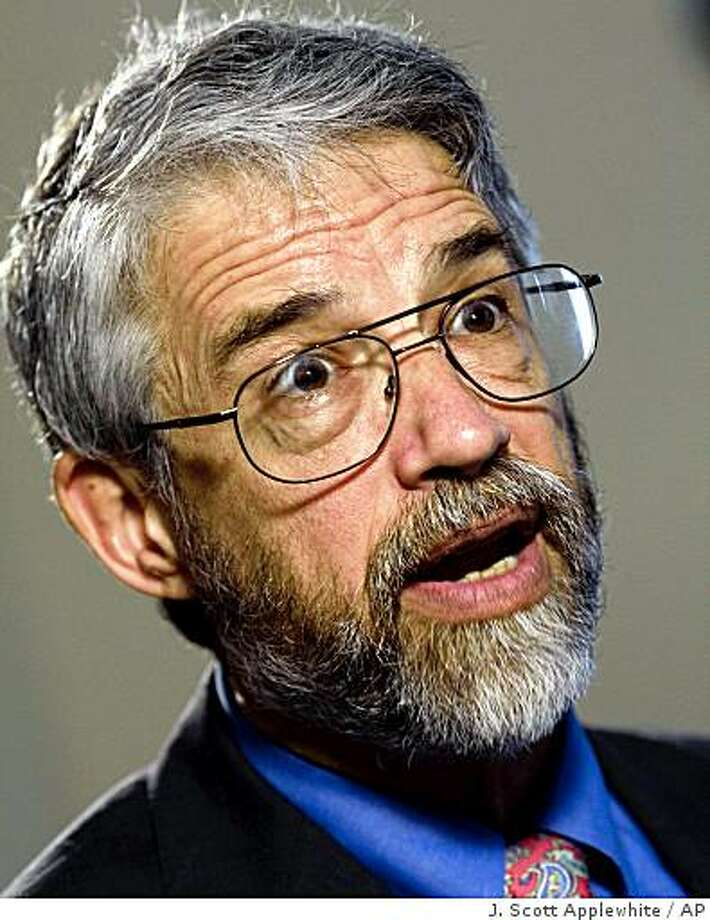 John Holdren talks about his role as President Obama's science adviser during an interview with The Associated Press, in Washington, Wednesday, April 8, 2009.   (AP Photo/J.  Scott Applewhite) Photo: J. Scott Applewhite, AP