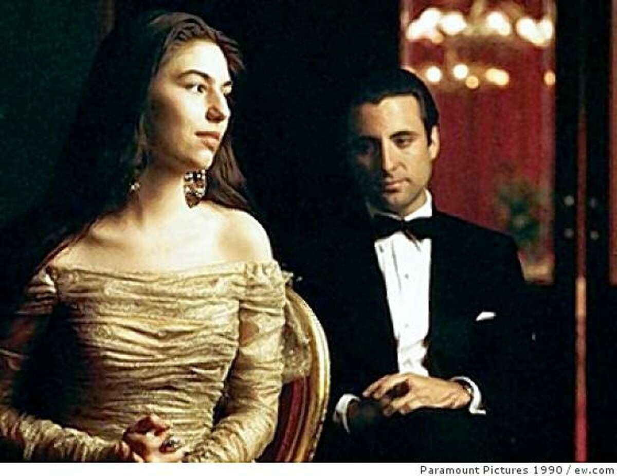 Sofia Coppola and Andy Garcia in