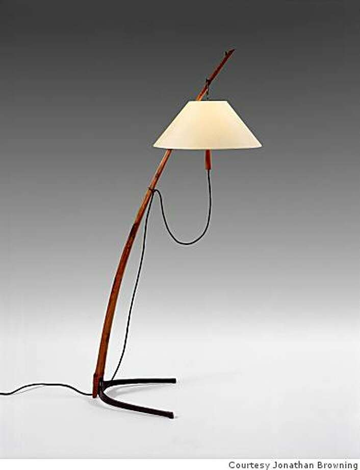 One of Willem Racke's favorites: : ?This is a great floor lamp from my friend Jonathan Browning?s lighting collection. It?s actually based on an early 20th century design, redesigned by Jonathan. It will look great in many settings ? from a very contemporary interior to a more traditional interior.?? (jonathanbrowninginc.com) Photo: Courtesy Jonathan Browning