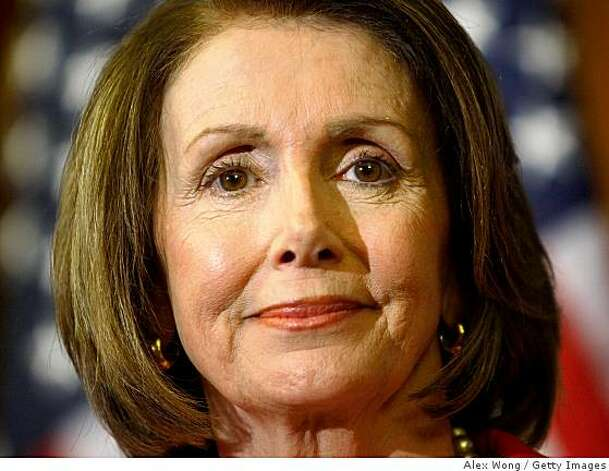 WASHINGTON - APRIL 02:  Speaker of the House Rep. Nancy Pelosi (D-CA) listens during a news conference on Capitol Hill April 2, 2009 in Washington, DC. The Democrats held a news conference to discuss the House Budget Resolution before the House voted on it.  (Photo by Alex Wong/Getty Images) Photo: Alex Wong, Getty Images