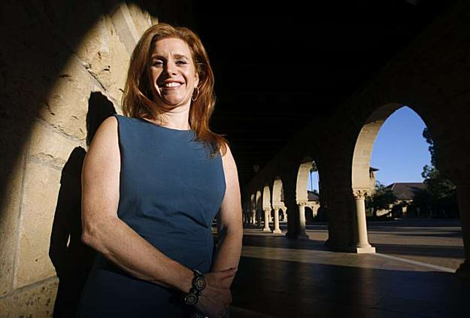 Rachel Braun Scherl is seen at Stanford University on Tuesday, Nov. 2, 2010. Scherl's company owns and distributes Zestra, a gel for women designed to stimulate sexual desire. Photo: Paul Chinn, The Chronicle