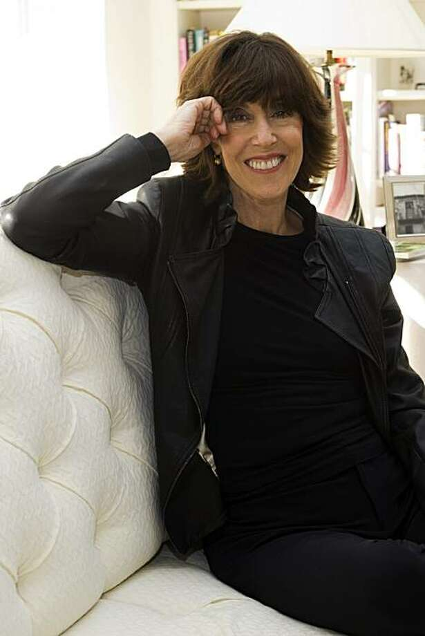 In this Nov. 3, 2010, photo, author and director Nora Ephron poses for a photo at her home in New York. Photo: Charles Sykes, Associated Press