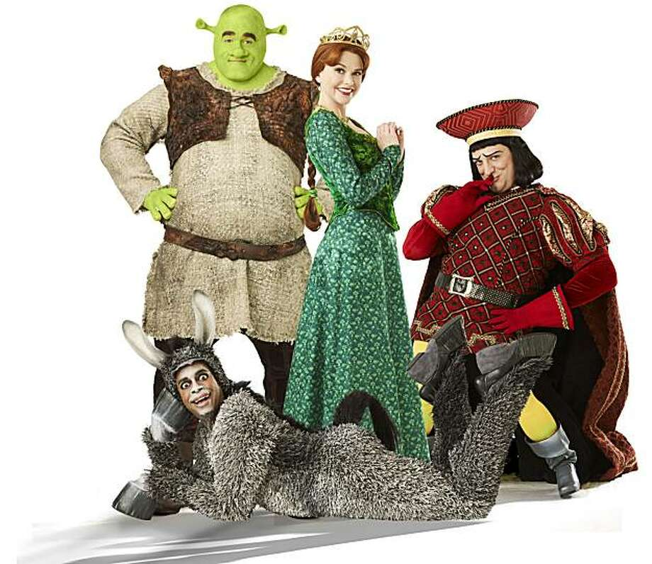 """Shrek the Musical."" Photo: Joan Marcus"