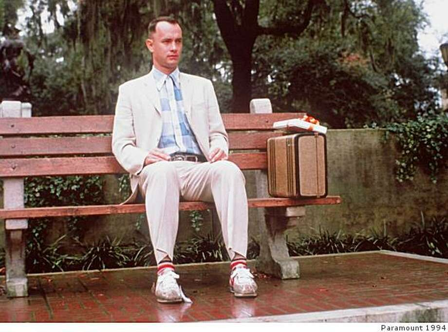 "Tom Hanks in ""Forrest Gump."" Photo: Paramount 1994"