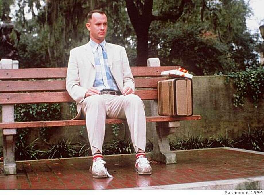 "Tom Hanks in ""Forrest Gump."" Photo: Paramount 1994"