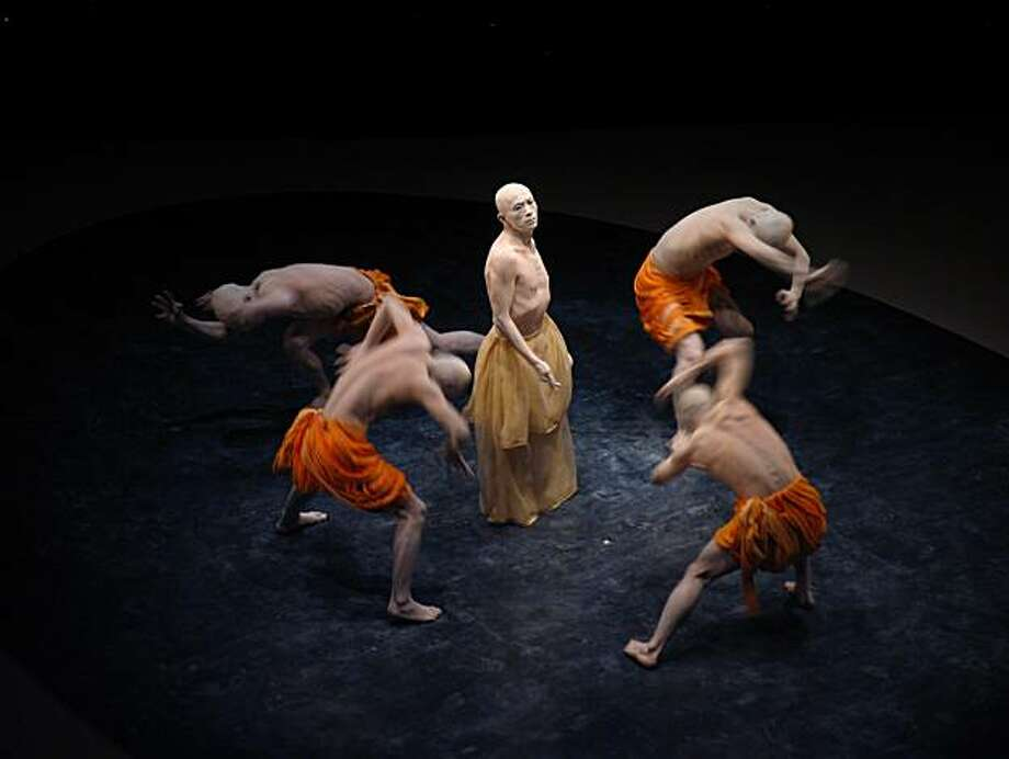 Sankai Juku dance company performs Nov. 11-13 at 8 p.m. and Nov. 14 at 2 p.m. at Novellus Theater, Yerba Buena Center for the Arts. $35-$60. Photo: SF Performances
