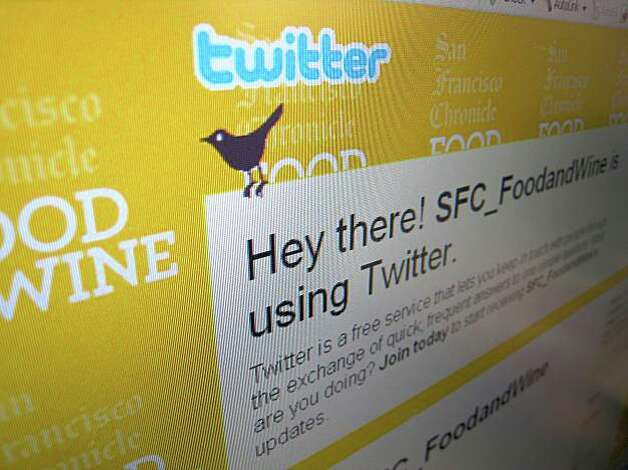 Screenshot of the twitter page for SFC-FoodandWine Photo: Erick Wong, The Chronicle