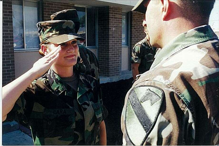Starlyn Lara, who served 12 years in the U.S. Army, doesn't think of herself as a veteran and didn't access VA services for veterans. And so she relied on systems of care that didn't address her very specific needs -- as a veteran. Photo: Unknown, Swords To Plowshares