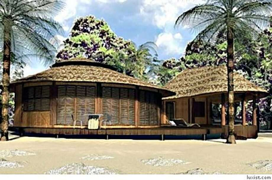 The eco-friendly Cacao Pearl resort in Palawan was designed by film designer Antonion Calvas. Photo: Luxist.com
