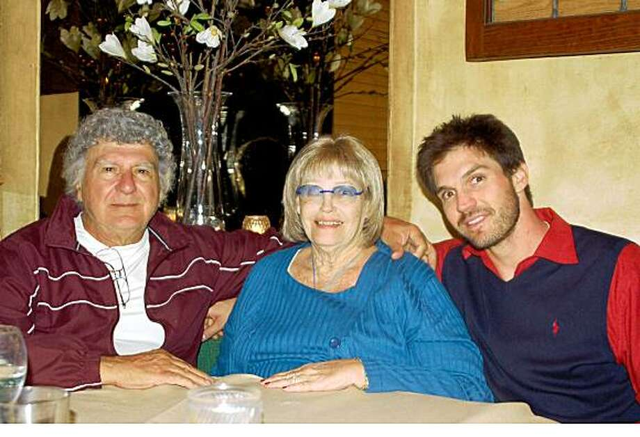 Joe, Roberta and Barry was taken in March 2008.