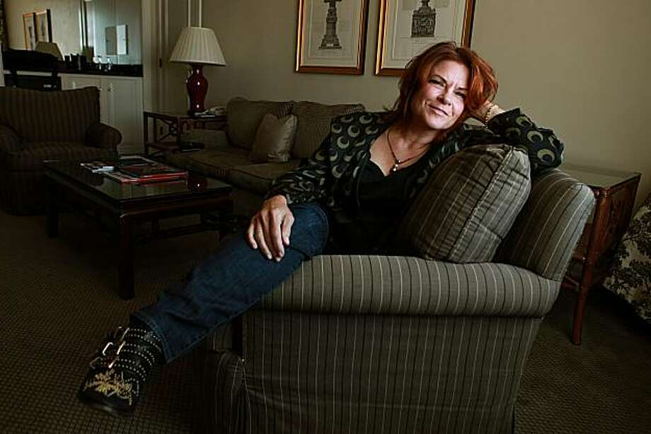 Rosanne Cash, daughter of Johnny Cash, who is in town to do readings from her new memoir , which she just heard made the New York Times best seller list as she sits for a portrait in San Francisco, Calif., on Wednesday, August 18, 2010.  She is also performing at the SF Jazz festival later this fall. Photo: Liz Hafalia, The Chronicle