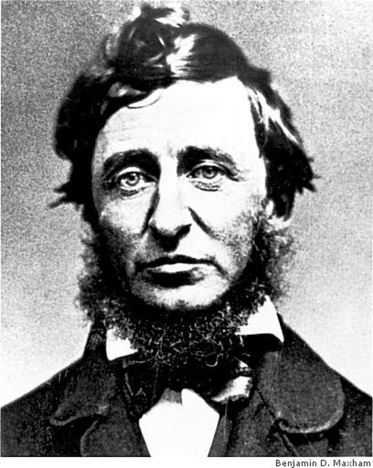 Daguerrotype of Henry David Thoreau by Benjamin D. Maxham / Courtesy Concord Free Public Library Photo: Benjamin D. Maxham