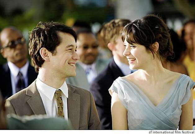Joseph Gordon-Levitt (making an in-person appearance) and Zooey Deschanel star in Marc Webb's 500 DAYS OF SUMMER, the Centerpiece film at the 52nd San Francisco International Film Festival, May 2 at the Sundance Kabuki Cinemas.   Joseph Gordon-Levitt and Zooey Deschanel in Marc Webb's 500 DAYS OF SUMMER, the Centerpiece film at the 52nd San Francisco International Film Festival April 23 - May 7 2009. Photo: Sf International Film Festival