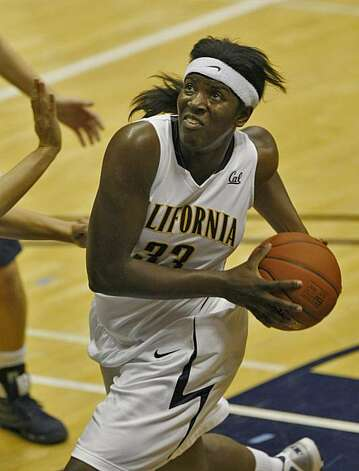 UC Berkeley Talia Caldwell makes a basket during the game against Vanguard College, Tuesday Nov. 3, 2009, in Berkeley, Calif. Photo: Lacy Atkins, The Chronicle