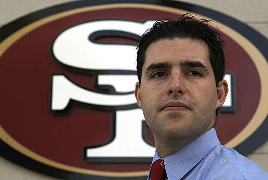 The San Francisco 49ers, Vice President of Stratigic Planning and owner, Jed York at  49ers headquarters in Santa Clara, Calif., on Friday Oct. 24, 2008 Photo: Michael Macor, The Chronicle