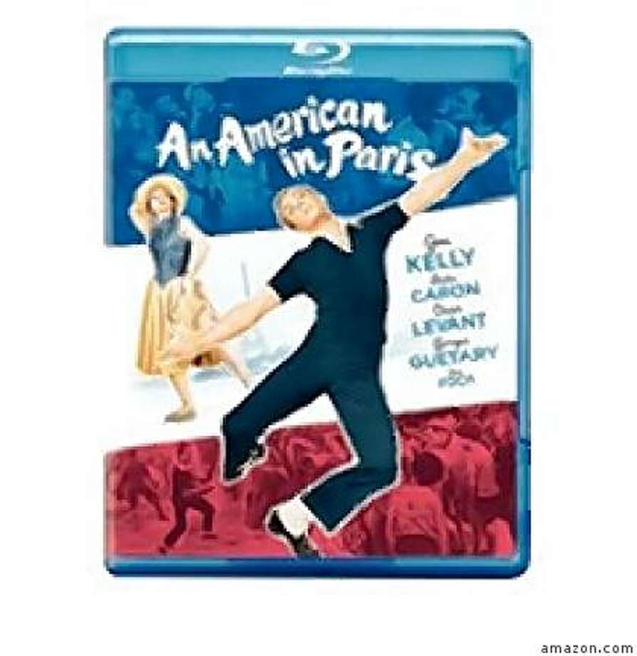 dvd cover AN AMERICAN IN PARIS Photo: Amazon.com