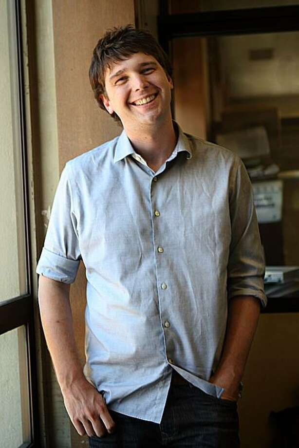 Andrew Mason, the founder of Groupon, an internet coupon service in San Francisco, Calif., on Thursday, July 29, 2010. Photo: Liz Hafalia, The Chronicle