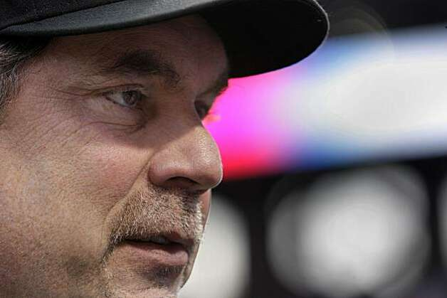 San Francisco Giants manager Bruce Bochy before Game 5 of the World Series against the Texas Rangers at Rangers Ballpark on Monday. Photo: Lea Suzuki, San Francisco Chronicle