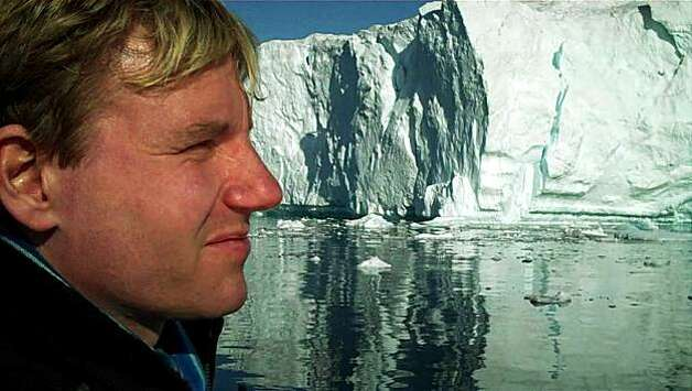 Bjorn In Greenland: Bjorn Lomborg in COOL IT, directed by Ondi Timoner Photo: Roadside Attractions