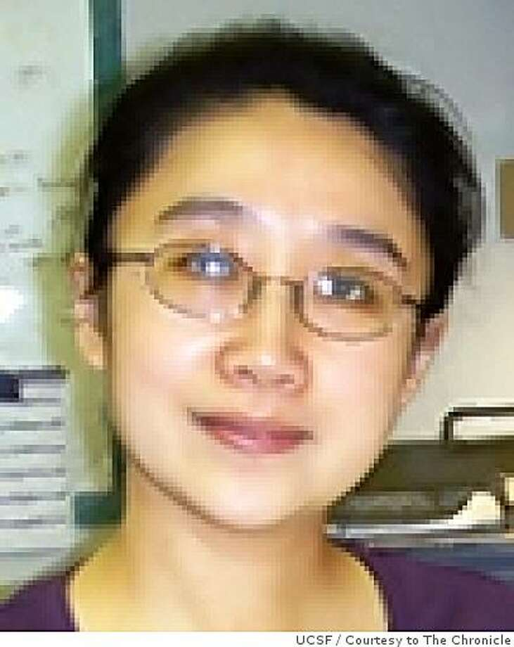 Mei Cao, a research associate in the UCSF urology department is accusing her colleague Benchun Liu of poisoning her. Photo: UCSF, Courtesy To The Chronicle