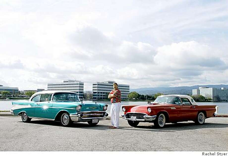 A vintage T-Bird replaces another classic car sold 40 years ago ...