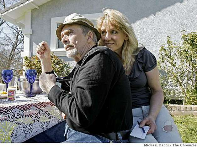 Country music legend Merle Haggard and his wife Theresa on Wednesday Mar. 19, 2009, at their home in Palo Cedro, Calif. near Shasta Lake, Merle will perform a show next month in Santa Rosa while  he is still touring with his band and is now in his early seventies. Photo: Michael Macor, The Chronicle