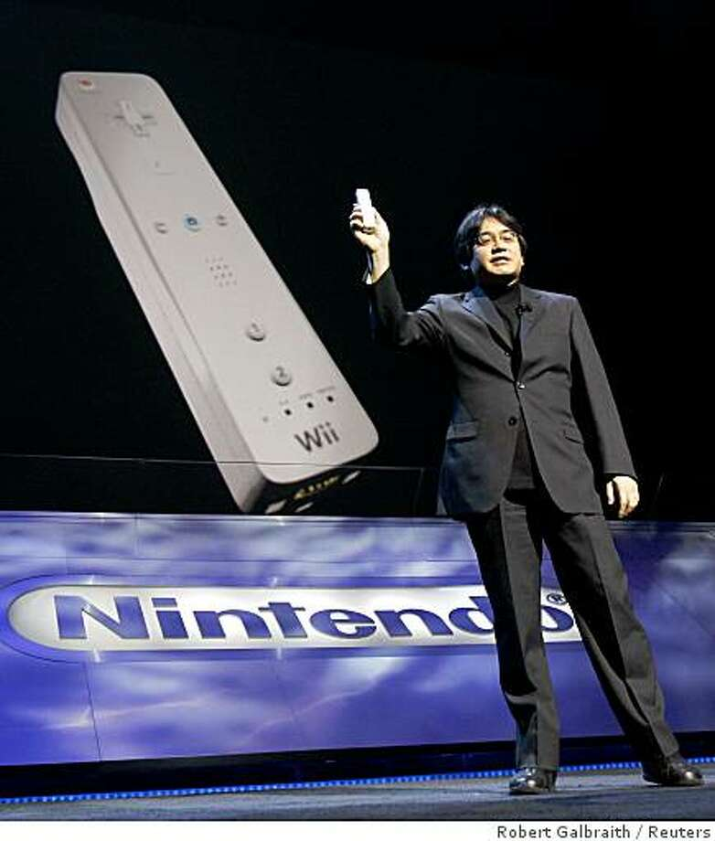 Satoru Iwata, president of Nintendo, will take the keynote stage on Wednesday morning. Photo: Robert Galbraith, Reuters