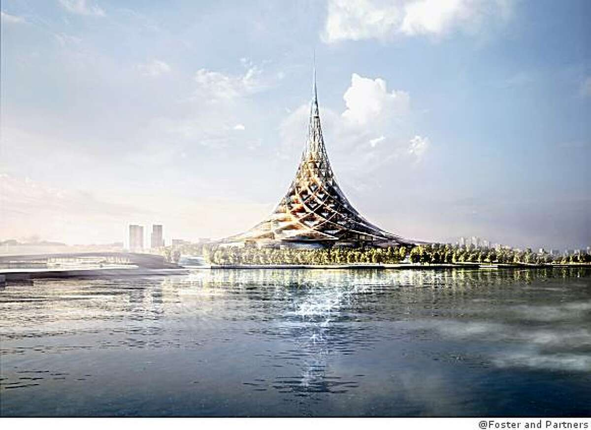 Crystal Island, Moscow, Russia, is designed by England's Foster and Partners. It was approved last year, but that doesn't mean it will ever be built