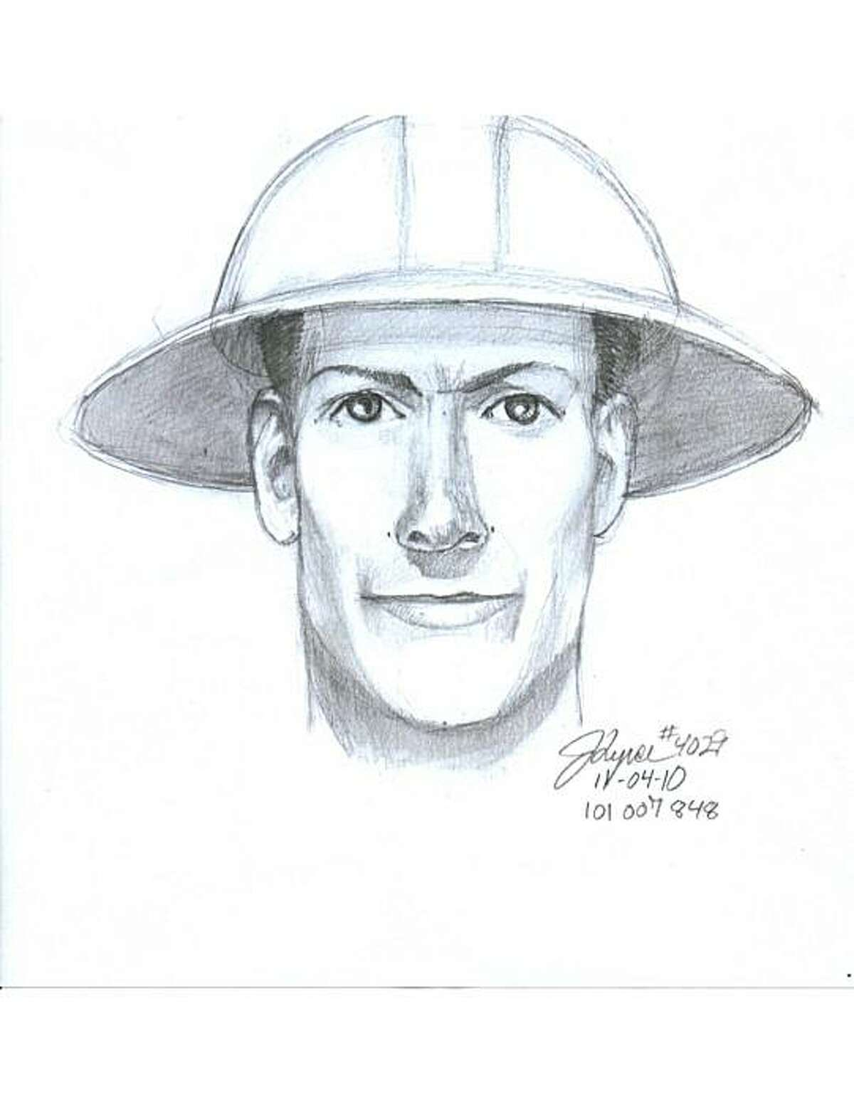 Kate Horan was slain in her S.F. apartment. San Francisco police have released a composite sketch of the suspect and photos of clothing he was wearing and items he was carrying. Police say the killer posed as a utility worker to gain entrance into the victim's apartment building.