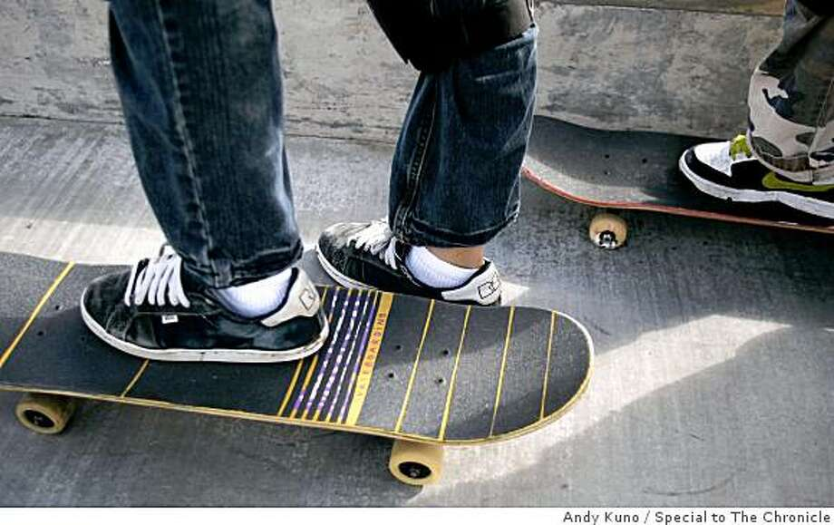S.F. Skate Club is holding a Skate-a-thon on March 29 at Golden Gate Park. Photo: Andy Kuno, Special To The Chronicle
