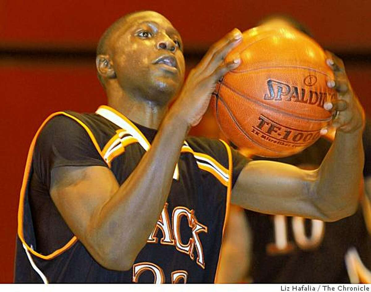 McClymonds at Skyline for high school basketball as Will Cherry shoots during the last minute in Oakland, Calif., on Friday, January 30, 2009.