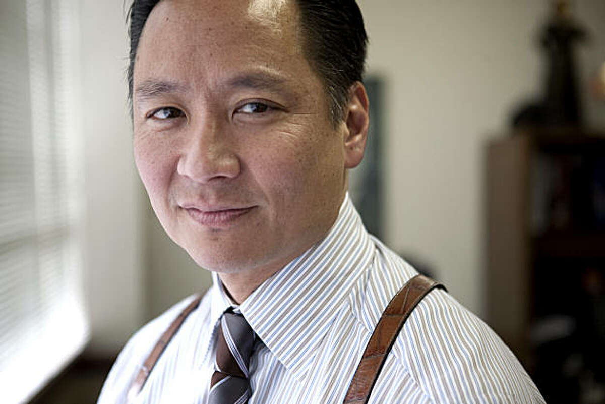 """San Francisco Public Defender Jeff Adachi stands in his in San Francisco, Calif., office on Friday, Feb. 20, 2009. Adachi is the producer of """"You Don't Know Jack: The Story of Jack Soo"""", which will be featured in the 2009 San Francisco International Asian American Film Festival."""