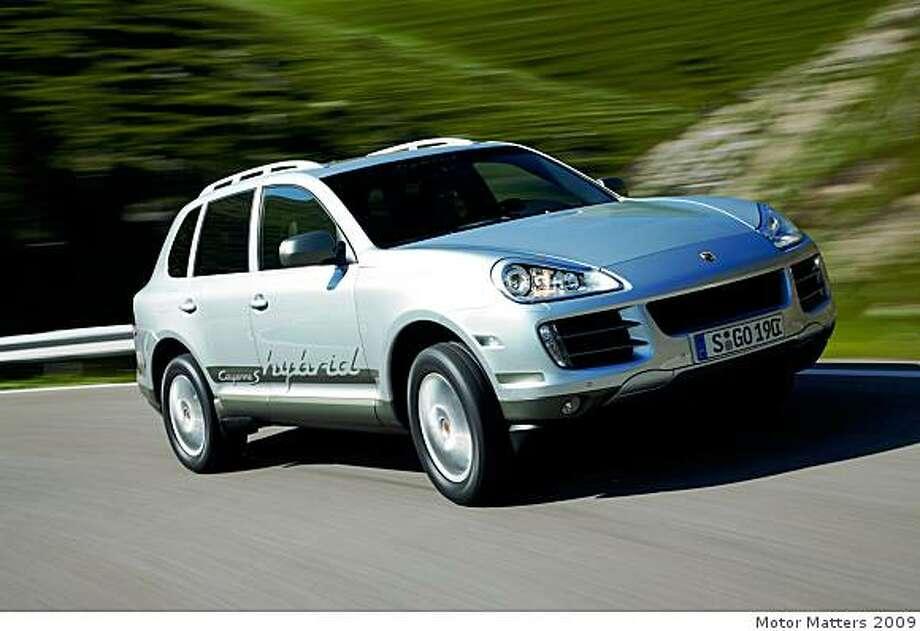 2010 Porsche Hybrid Photo: Motor Matters 2009