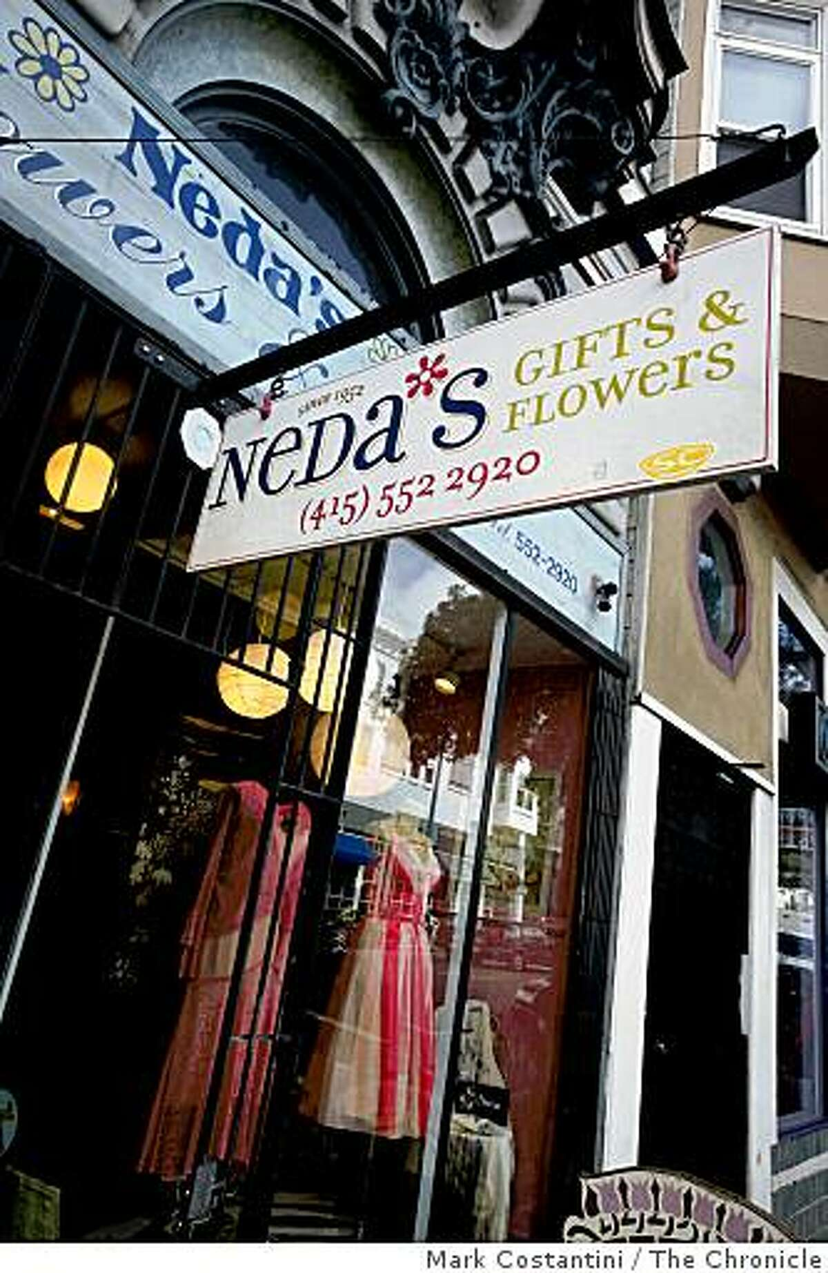 Neda's on Haight St. is photographed in San Francisco, Calif. on Thursday, February 26, 2009.