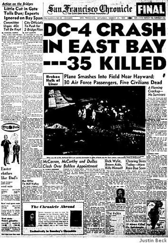 From the Archives: 35 dead after East Bay plane crash - SFGate