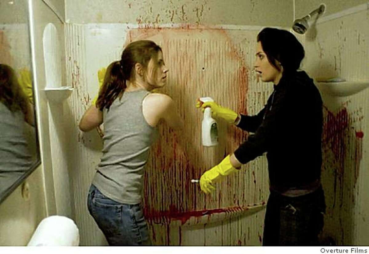 """Amy Adams (left) and Emily Blunt play sisters who run a crime-scene clean-up service in """"Sunshine Cleaning"""" (2009)."""