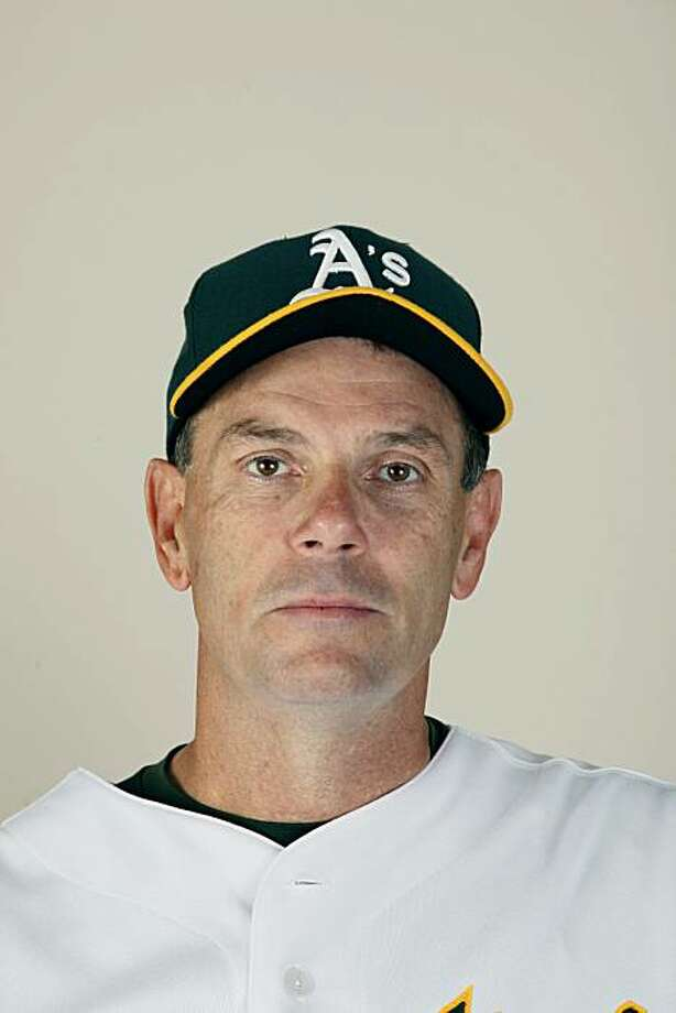 Oakland Athletics' coach Ron Romanick during picture day at spring training baseball in Phoenix,  Monday, March 1, 2010. (AP Photo/Eric Risberg) Photo: Eric Risberg, ASSOCIATED PRESS